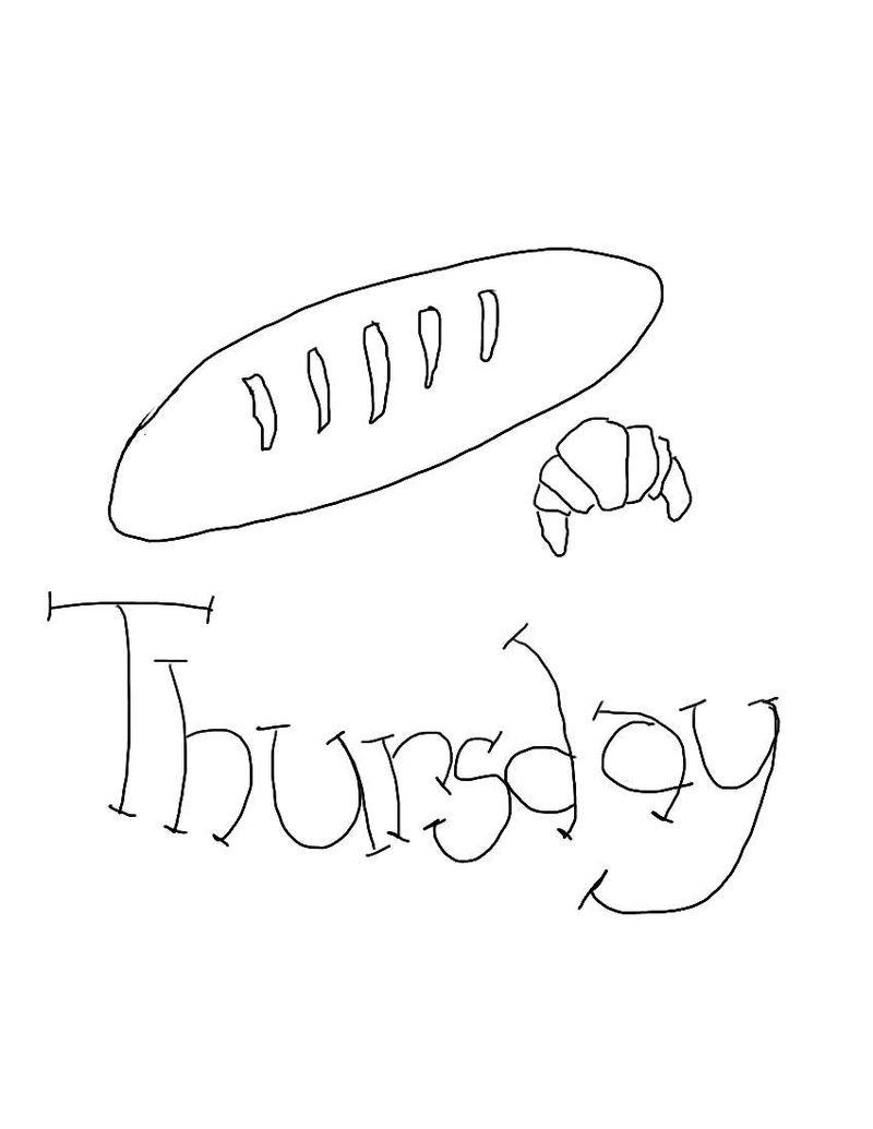 Thursday-Baking day transfer